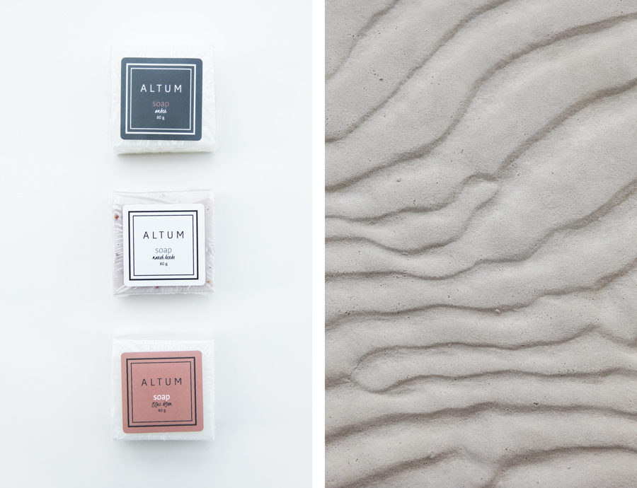 ALTUM soap packaging